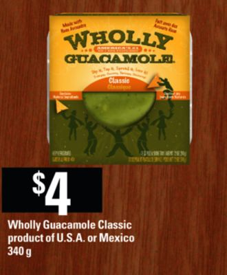 Wholly Guacamole Classic - 340 g