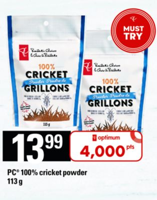 PC 100% Cricket Powder - 113 g