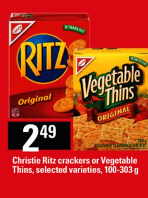 Ritz Crackers. All Ritz. Ratings & Reviews. Our members need you Be the first to review this product. Write a Review. Legal Disclaimer. We endeavor to display accurate product information on this website, but we cannot guarantee the accuracy of that information. Actual products may contain additional and/or different information.