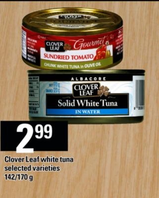 Clover Leaf White Tuna - 142/170 g