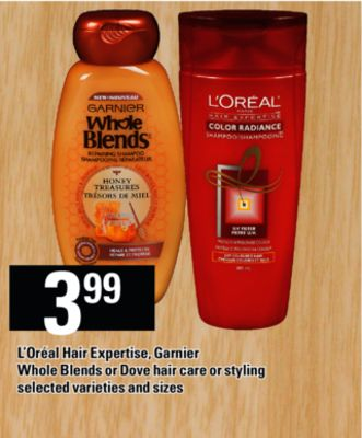 L'oréal Hair Expertise - Garnier Whole Blends Or Dove Hair Care Or Styling