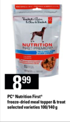 PC Nutrition First Freeze-dried Meal Topper & Treat - 100/140 G