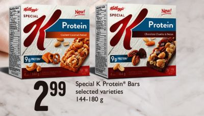 Special K Protein Bars - 144-180 g