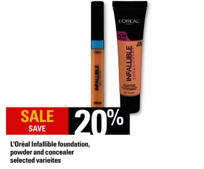 L'oréal Infallible Foundation - Powder And Concealer
