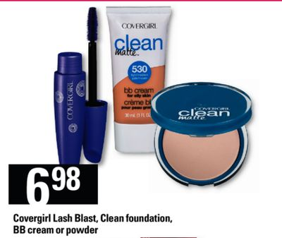Covergirl Lash Blast - Clean Foundation - Bb Cream Or Powder