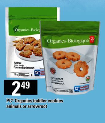 PC Organics Toddler Cookies