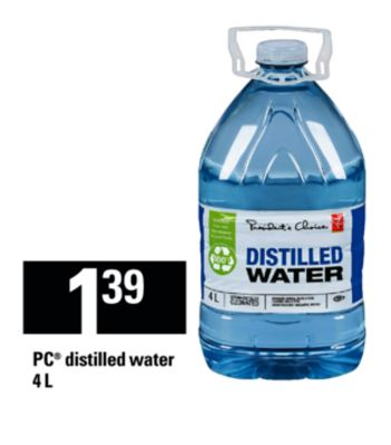 PC Distilled Water - 4 L