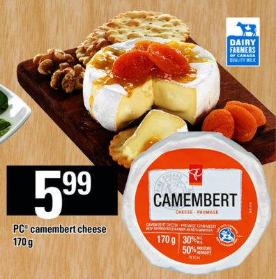 PC Camembert Cheese - 170 g
