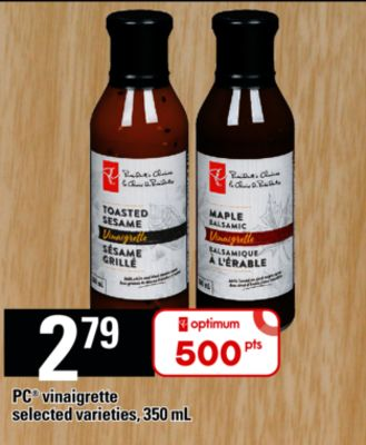 PC Vinaigrette - 350 mL