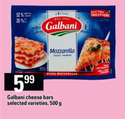 Galbani Cheese Bars - 500 g