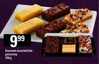 Gourmet Assorted Bar Party Tray - 750 G