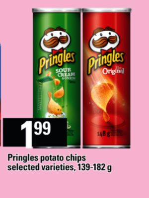 Pringles Potato Chips - 139-182 g