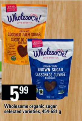 Wholesome Organic Sugar - 454-681 G