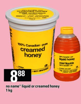 No Name Liquid Or Creamed Honey - 1 Kg