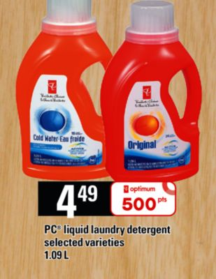 PC Liquid Laundry Detergent - 1.09 L