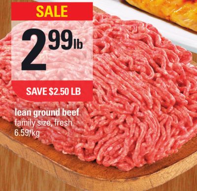 how to look about ground lean beef