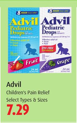 Advil Children's Pain Relief