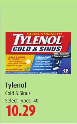 Tylenol Cold & Sinus