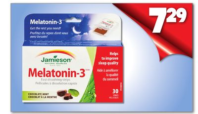 Melatonin-3 Chocolate Mint 30 Strips