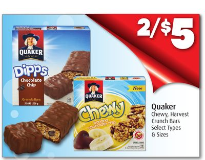 Quaker Chewy - Harvest Crunch Bars