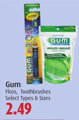 Gum Floss - Toothbrushes
