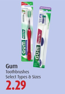 Gum Toothbrushes