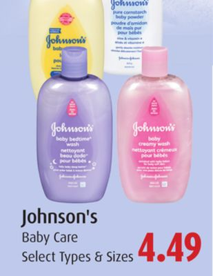 Johnson's Baby Care