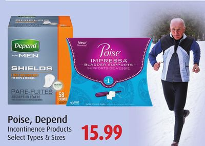 Poise - Depend Incontinence Products