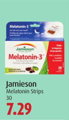 Jamieson Melatonin Strips
