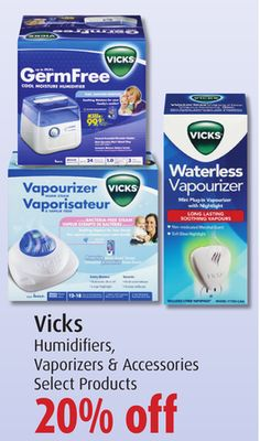 Vicks Humidifiers Vaporizers & Accessories