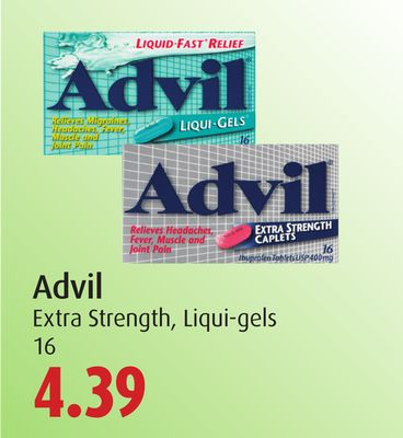 Advil Extra Strength - Liqui-gels