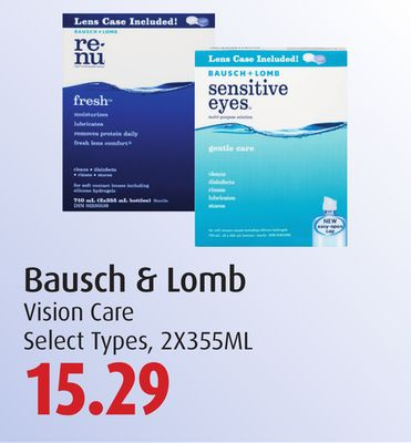 Bausch & Lomb Vision Care