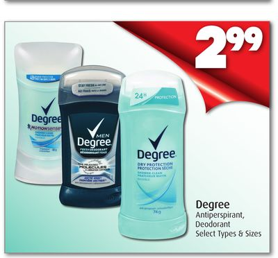 Degree Antiperspirant - Deodorant