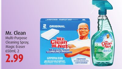 Mr. Clean Multi-purpose Cleaning Spray - Magic Eraser