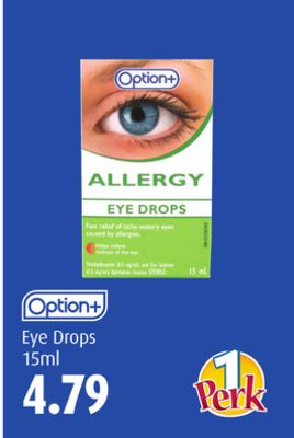 Option+ Eye Drops