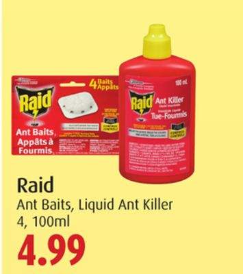 Raid Ant Baits - Liquid Ant Killer 4 - 100ml
