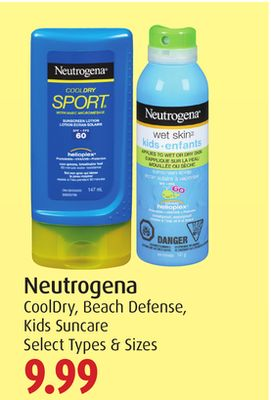 Neutrogena Cooldry - Beach Defense - Kids Suncare