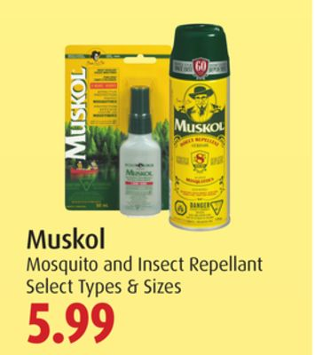 Muskol Mosquito and Insect Repellant