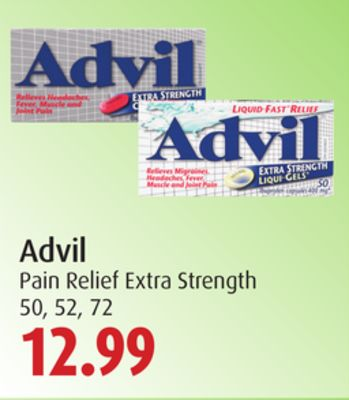 Advil Pain Relief Extra Strength