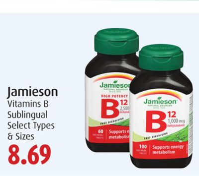 Jamieson Vitamins B Sublingual