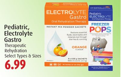Pediatric - Electrolyte Gastro