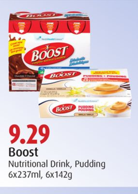 Boost Nutritional Drink - Pudding