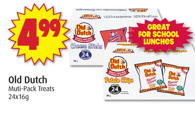 Old Dutch Muti-pack Treats