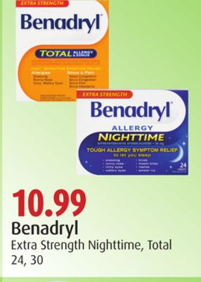Benadryl Extra Strength Nighttime - Total