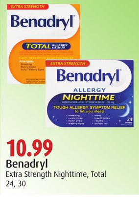 Benadryl Extra Strength Nighttime