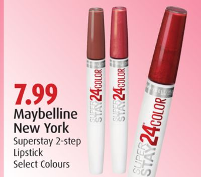 Maybelline New York Superstay 2-step Lipstick