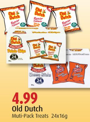 Old Dutch Multi-pack Treats