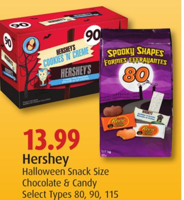 Hershey Halloween Snack Size Chocolate & Candy