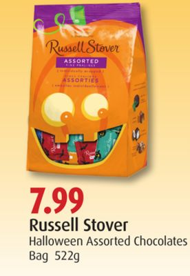 Russell Stover Halloween Assorted Chocolates