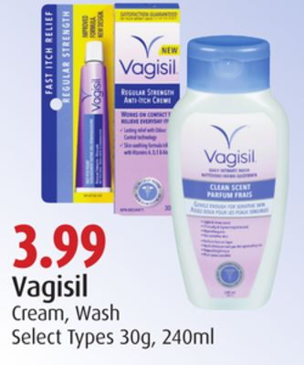 Vagisil Cream - Wash